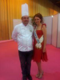 Philippe LECORDIER avec miss France 2012