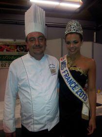 Philippe LECORDIER avec miss France 2013
