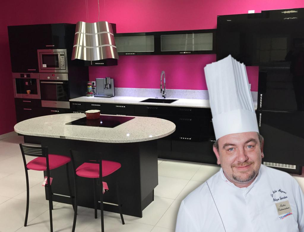 Cours de cuisine en partenariat avec Lejamtel Agencement Saint-Lô